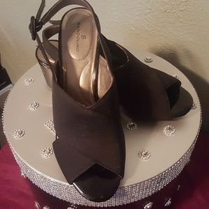 Bandolino Black Sandals-Size 9.5